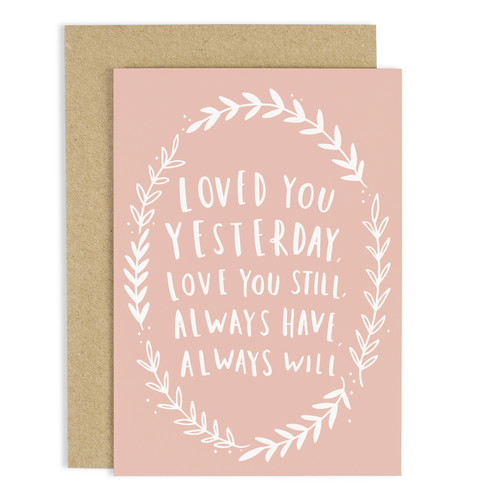 ALWAYS LOVE YOU CARD