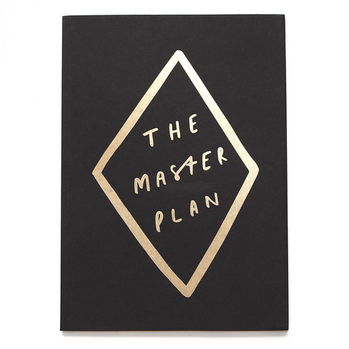 MASTER PLAN A5 NOTEBOOK