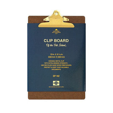 Clip Board - Old School A4 (골드)